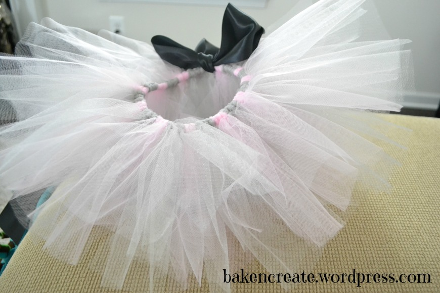 Finished Tutu with words